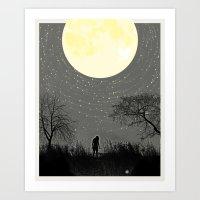 My Darkest Star Art Print