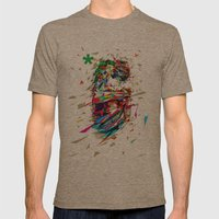 6th Anniversary Mens Fitted Tee Tri-Coffee SMALL