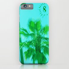 palm tree number 8 iPhone 6 Slim Case