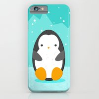 penguin iPhone & iPod Cases featuring Penguin by eDrawings38
