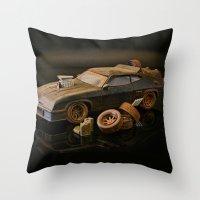 Mad Max Interceptor Throw Pillow