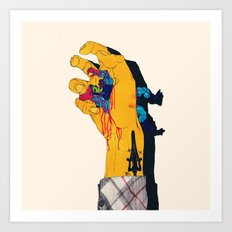 I HAVE THE POWER Art Print