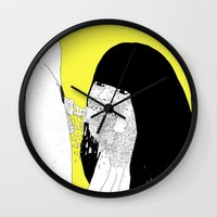 GOOD GIRLS VS RUDE GIRLS Wall Clock