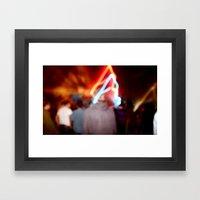Youth+Saturdays Framed Art Print