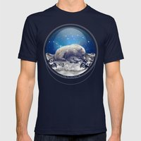 Under The Stars II (Ursa… Mens Fitted Tee Navy SMALL