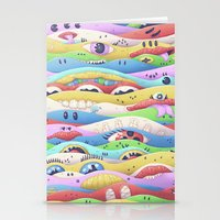 Psycake C Stationery Cards