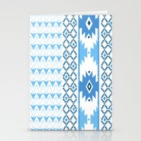 Navajo Glam _ Blue Stationery Cards