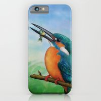 iPhone & iPod Case featuring Common Kingfisher by Amy Fan