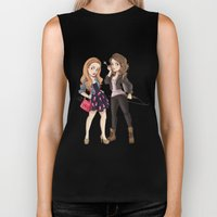 Teen Wolf Ladies Biker Tank