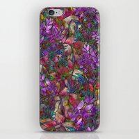 Floral Abstract Stained Glass G175 iPhone & iPod Skin