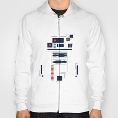 R2D2 Abstract Hoody