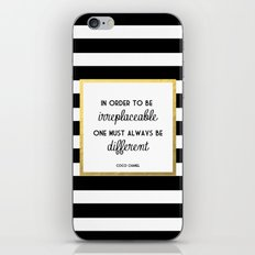 Coco Gold Irreplaceable … iPhone & iPod Skin
