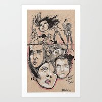 Hater Or Lover Art Print