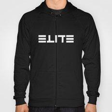 ELITE - Ambigram series (Black) Hoody
