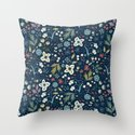 Wild Meadow Throw Pillow