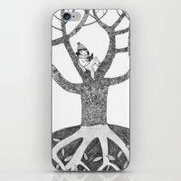 Winter reading iPhone & iPod Skin