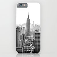city iPhone & iPod Cases featuring New York City by Studio Laura Campanella