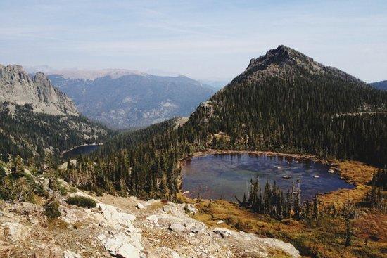 Rocky Mountain Lakes Art Print