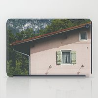 Pink Alpine House iPad Case