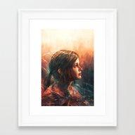 Cordyceps Framed Art Print