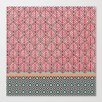 Native Patterns Canvas Print