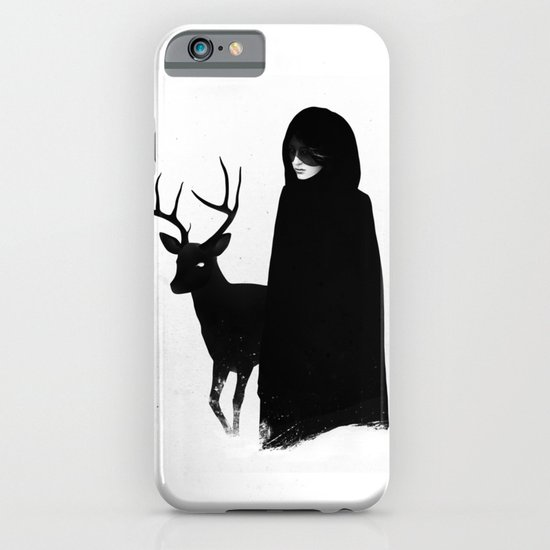 Absentia in white iPhone & iPod Case