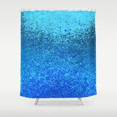 ocean ripple Shower Curtain
