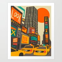 Time Square Art Print