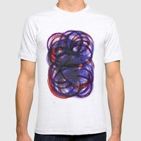 Intertwined Mens Fitted Tee Ash Grey SMALL