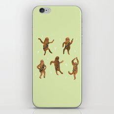 Wookie Dance Party iPhone & iPod Skin