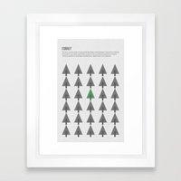 Community of Forrst Framed Art Print