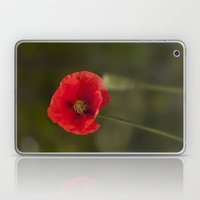 Poppy Red Laptop & iPad Skin