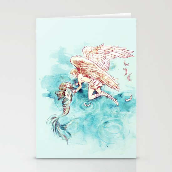 Star-cross'd Lovers Stationery Card