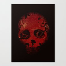 Red Encounter Canvas Print