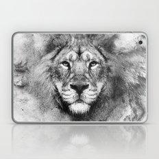 Lion Black And White Laptop & iPad Skin