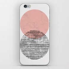 Mid Century art duo iPhone & iPod Skin