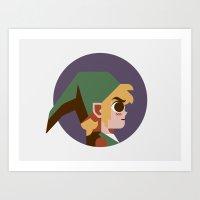 Headgear: Link Art Print