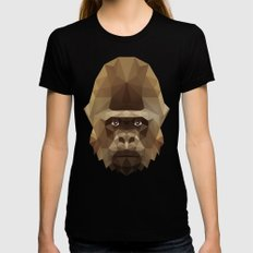 Gorilla Womens Fitted Tee Black SMALL