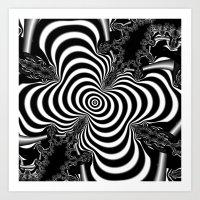 Hypnotizing Art Print