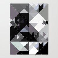 Bizarre Love Triangle 2 Canvas Print