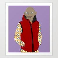 GOLLUM MODERN OUTFIT VER… Art Print