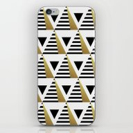 iPhone & iPod Skin featuring Pyramids by Elisabeth Fredriksso…