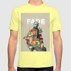 Fade No More Mens Fitted Tee Lemon SMALL