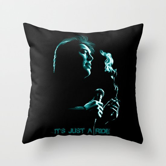 Bill Hicks 1961-1994 – It's Just A Ride Throw Pillow