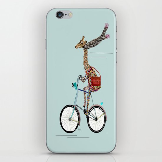Giraffes School Days  iPhone & iPod Skin
