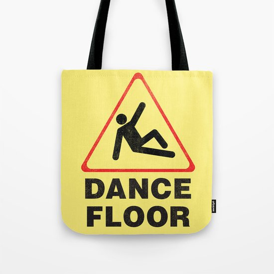 Cuation: breakdancing Tote Bag