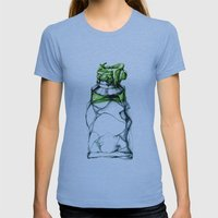 Tube Womens Fitted Tee Athletic Blue SMALL