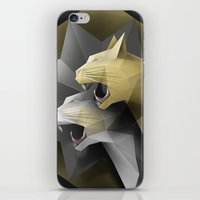 Geometric Cats iPhone & iPod Skin
