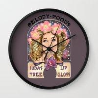 Melody Pond's Judas Tree Lipgloss 2.0 Wall Clock