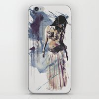 Bellydancer Abstract iPhone & iPod Skin